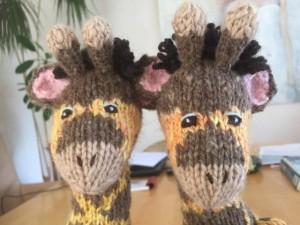Twinbears giraf maken 5