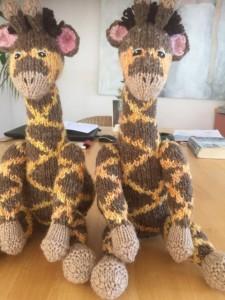 Twinbears giraf maken 6
